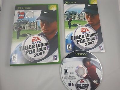 Tiger Woods PGA Tour 03, 05, & 06 CIB You Pick (Microsoft, Xbox)