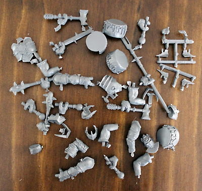 Lord of the Rings SBG Armored Mordor Troll bits Games Workshop plastic