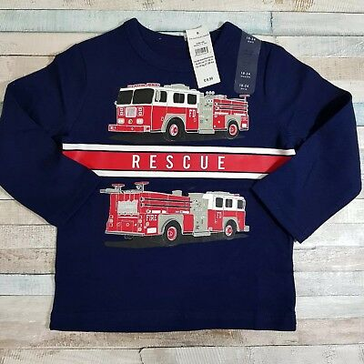Baby Gap rescue  print long sleeve T- shirt  Are 18-24 months