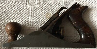 Stanley No 4 smoothing plane, USA made, rosewood handles