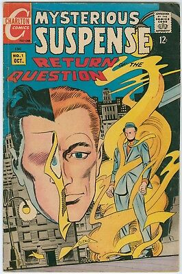 Mysterious Suspense Return of the Question #1 - Steve Ditko