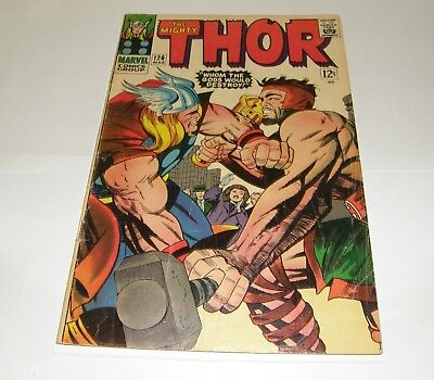 The Mighty Thor #126 (Marvel 1966) 1St Regular Thor Issue