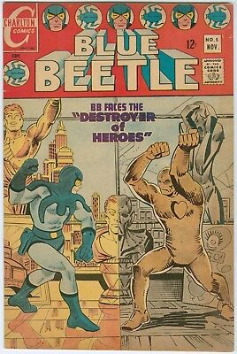 Blue Beetle #5 - Steve Ditko - includes the Question