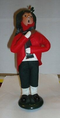 Byers Choice The Carolers Newspaper Delivery Boy 1990