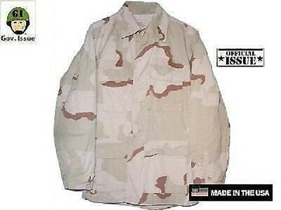US Army 3 color desert camouflage DCU Outdoor Jacke Jacket Coat LL Large Long