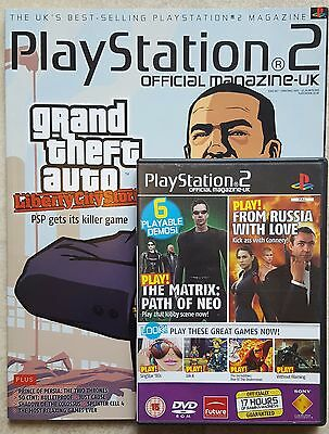 Official Playstation 2 Magazine #67 - Christmas 2005 with Demo Disc - OPSM2