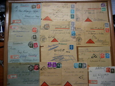 .German Cover 1930s lot of 13 items covers