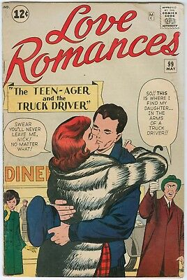 Love Romances #99 - Jack Kirby cover and stories