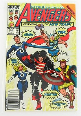 The Avengers #300 Feb 1988, Marvel Boarded and Bagged When It Came Out