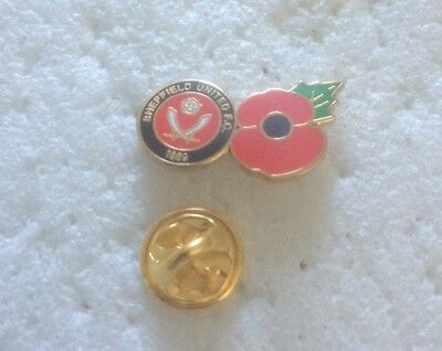 Very Rare  Sheffield United Supporter Enamel Badge - Wear With Pride