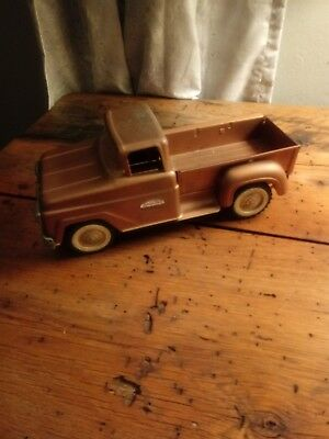 Vintage 1950 1960S Tonka Toys Pressed Steel Pick Up Trucks Copper Color