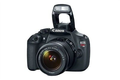Canon EOS Rebel T5 DSLR Camera With Ef-s 18-55mm Lens