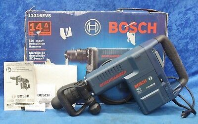 "New Bosch 11316EVS 14Amp 1-9/16"" Corded Variable Speed SDS-Max Demolition Hammer"