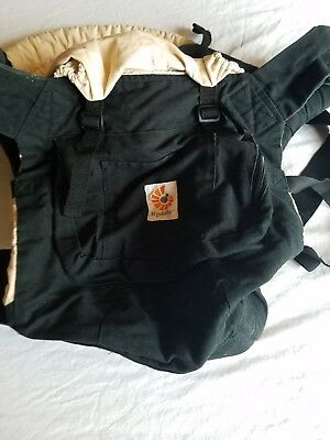 Ergobaby Four Position 360 Baby Carrier Black Camel Bc360blkcam1nl - gently used