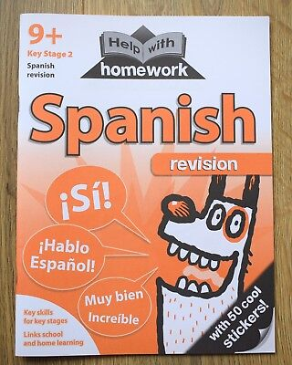 Spanish Book Language Learning Workbook español MFL holidays Spain educational 9