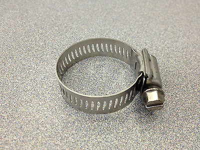Breeze #16 All Stainless Steel Hose Clamp 10 Pcs 63016