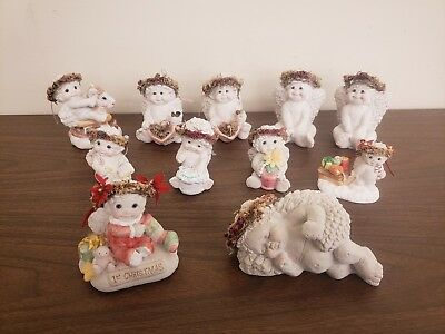 Dreamsicles Figurines, Lot of 11