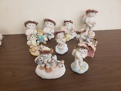 Dreamsicles Figurine Collectibles Lot Of 9 by Krinstin Haynes