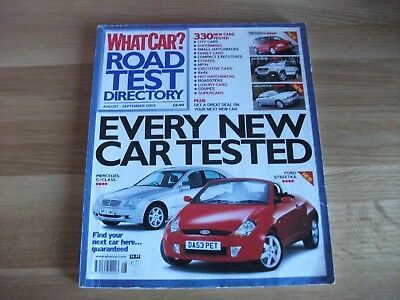 What Car Magazine AUG-SEPT 2003
