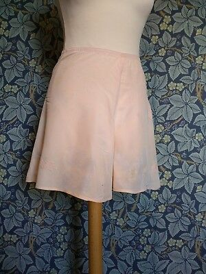 Vintage CC41 knickers WW2 Old Stock Pink Cami knickers tap pants 1940s Lingerie