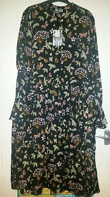 Brand New With Tag Beautiful autumn colours Dress size 26