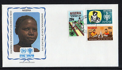 Nigeria - 1979,  International Year of the Child FDC