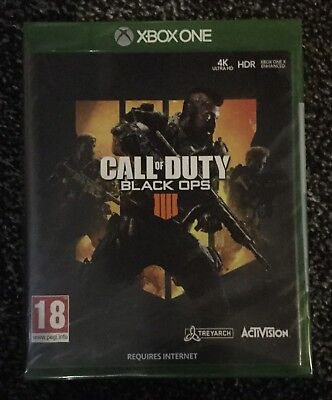 Call Of Duty: Black Ops 4 (Xbox One, New and Sealed)
