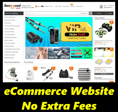 Website For Sale - eCommerce - Make Money - Internet - Home Online Business