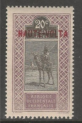 Burkina Faso #10 (A4) VF MNH - 1920 20c Camel and Rider