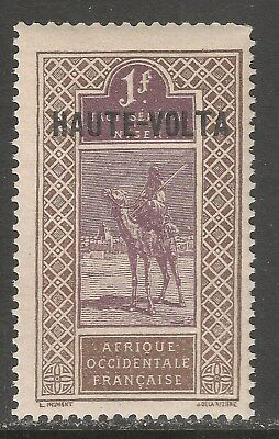 Burkina Faso #26 (A4) VF MNH - 1920 1fr Camel and Rider