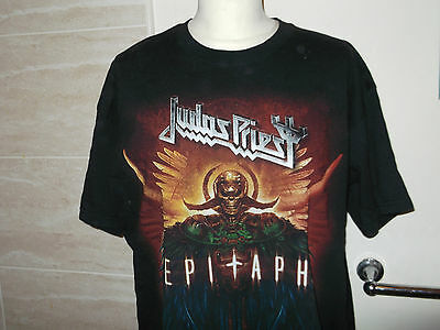 JUDAS PRIEST...EPITAPH.. T Shirt...Short Sleeve..   X/Large