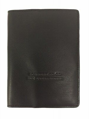 Hobo Genuine Leather Quest Black Passport Travel RFID Wallet Retail $54