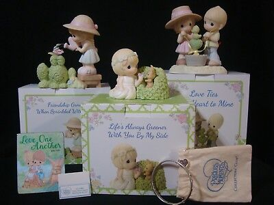 t Precious Moments - 3 Piece Limited Edition Collector's Club Set
