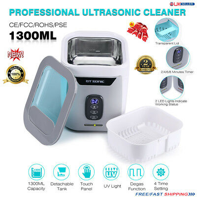 1300ML Digital Stainless Ultrasonic Cleaner Ultra Sonic Bath Cleaning Timer Tank