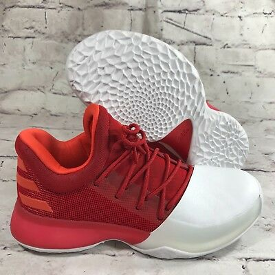 a25cb9ff91c Adidas James Harden Vol.1 Home Basketball Shoes boys Red MVP BY3483 new