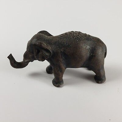 Crane Co. Antique Cast Elephant Advertising Memorabilia Paperweight