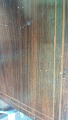 Beautiful! Solid Brazilian Rosewood Small Occasional Table