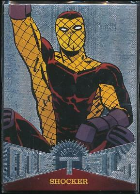 2017 Fleer Ultra Spider-Man Marvel Metal Trading Card #MM2 Shocker