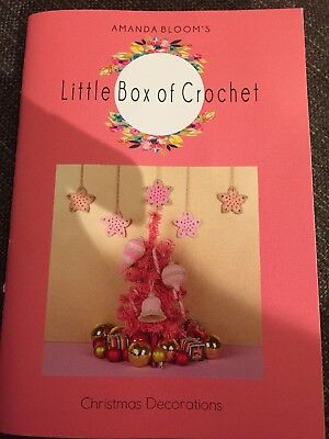 Little Box of Crochet Christmas Decorations Pattern Booklet