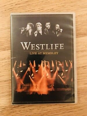 Westlife - Live At Wembley DVD From 2006