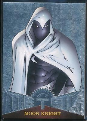 2017 Fleer Ultra Spider-Man Marvel Metal Trading Card #MM21 Moon Knight