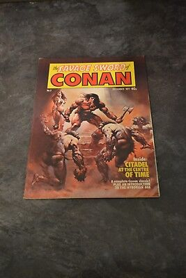 The Savage Sword of Conan Issue 2 - December 1977 UK Monthly Marvel