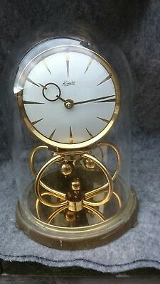 Vintage German Kundo Anniversary  Torsion Clock For Restoration
