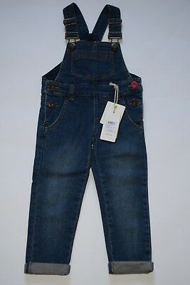 BNWT Joules Girls Denim Leigh Dungarees 3YR