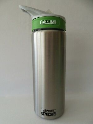 3dfcf58e1e Camelbak Eddy Vacuum Insulated Stainless Steel 20 oz. Hydration Bottle EUC