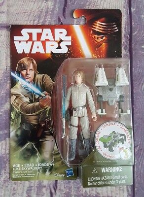 Hasbro Star Wars  LUKE SKYWALKER Action Figure Combinable~NIB