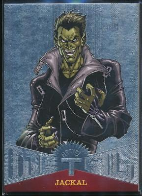 2017 Fleer Ultra Spider-Man Marvel Metal Trading Card #MM49 Jackal