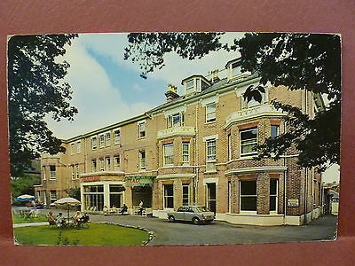 Old Postcard UK Bournemouth Elstead Hotel Knyveton Road