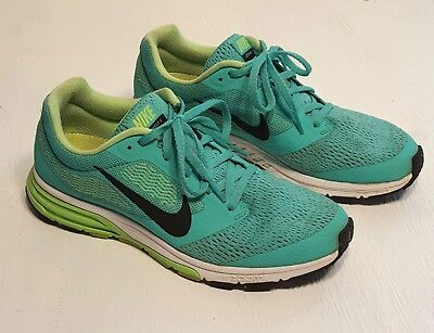 f52e0d70d0340 Women size 8.5 NIKE Air Zoom Fly 2 Sneakers Running Shoes Turquoise Yellow