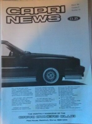 The Capri Owners Club Magazine March 1986 Vol.2 No.10